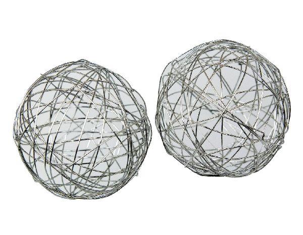 Drahtkugel SILBER 80335227200 Ø 4 cm Inhalt: 8 Stück