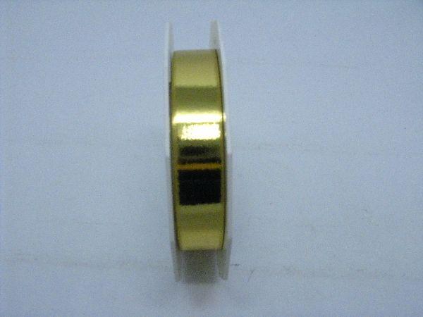 Kräuselband glänzend GOLD 15mm 25m Mexico
