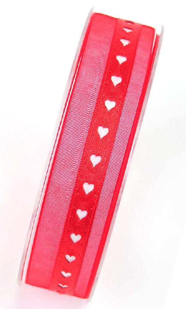 Harmoni -Herzband ROT 20 25mm 20m