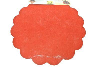 Blumella Topfmansch.Abreißbloc ROT-Fleece+Folie 44cm 25St.block
