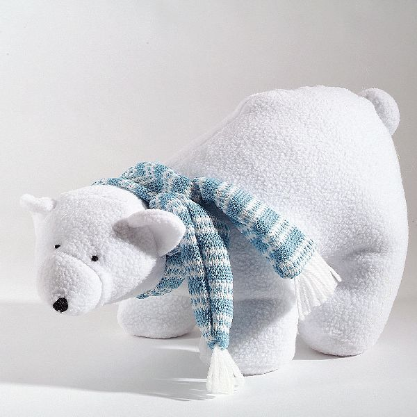 Eisbär Stanis WEISS-BLAU 76078 38cm