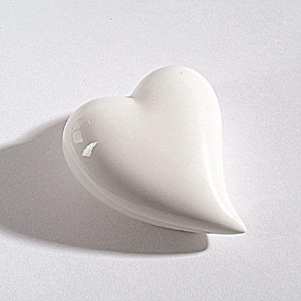 Herz Fresh WEISS 13691 4cm Porzellan