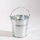 Metalleimer Galva METALL  17924 97924 mit Henkel, Ø11,5 H:10,5cm
