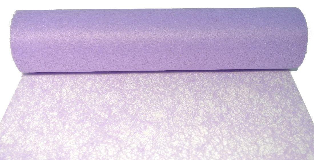 Vlies, Tischband, Dekovlies FLIEDER 114 43002-70cm Rolle=25m