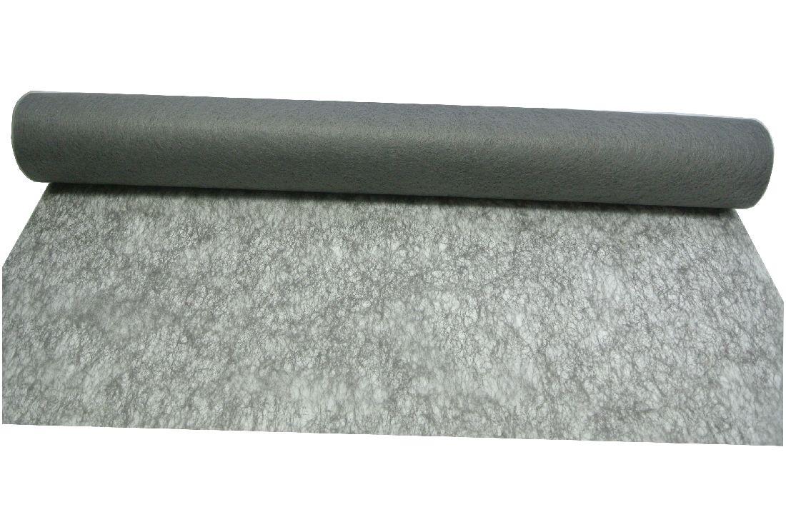 Vlies, Tischband, Dekovlies GRAU 128 43002-70cm Rolle=25m