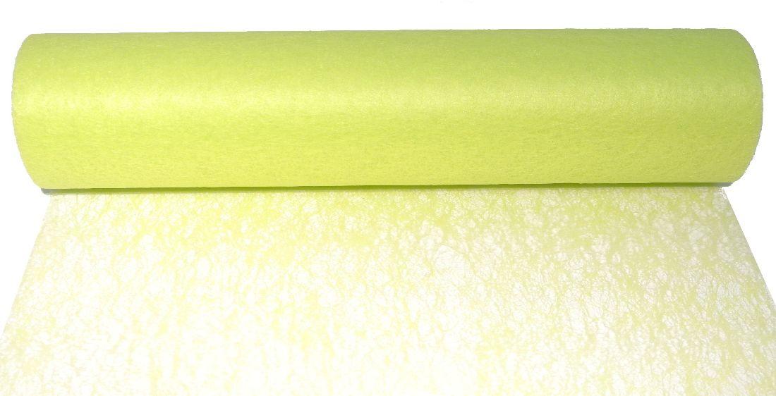 Vlies, Tischband, Dekovlies HELLGRÜN 104 43002-70cm Rolle=25m