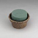 Oasis® Biolit Schale mit Steckmasse 11-07350 Ø 18 cm x H 10 cm