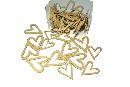 Streuartikel Celebration GOLD 14046 Herz 3,5+4,5cm 2-fach