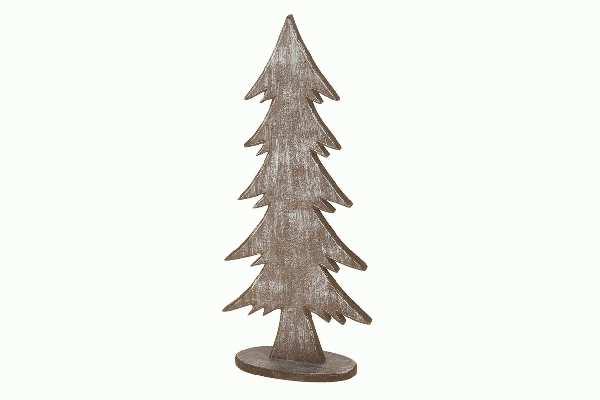 Tanne Forrest BRAUN ANTIK 16042 38,5x16,5x7cm Holz