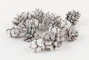 Tannenzapfen / Pine Cone WHITE-WASH 11876 Mix 400 Gramm