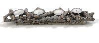 Kerzenhalter Wurzelholz NATUR 16430 63x8x13cm