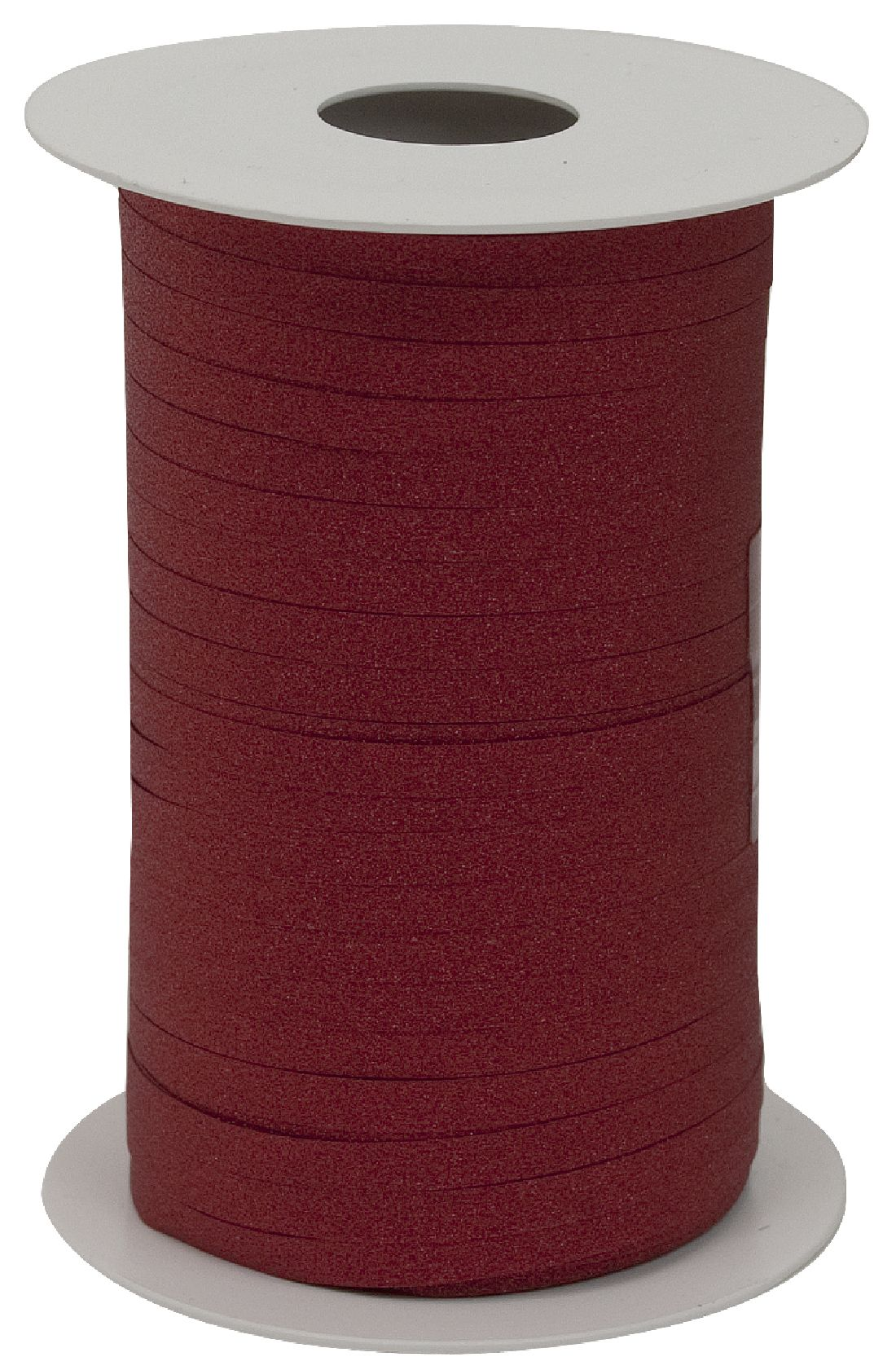 Kräuselband Glamour ROT 8146 20 Breite 5mm  Rolle=150Meter