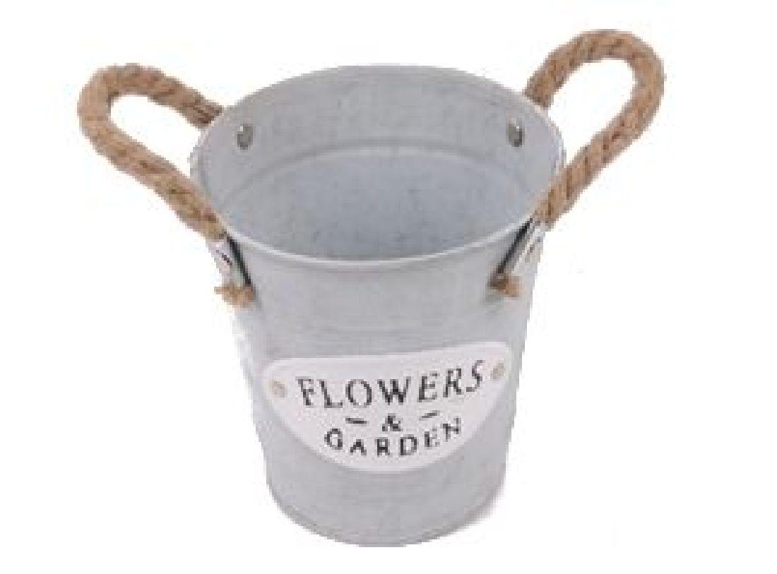 Topf Flowers & Garden mit Seilgriff 20-5636 Ø13cm H12cm BD9cm