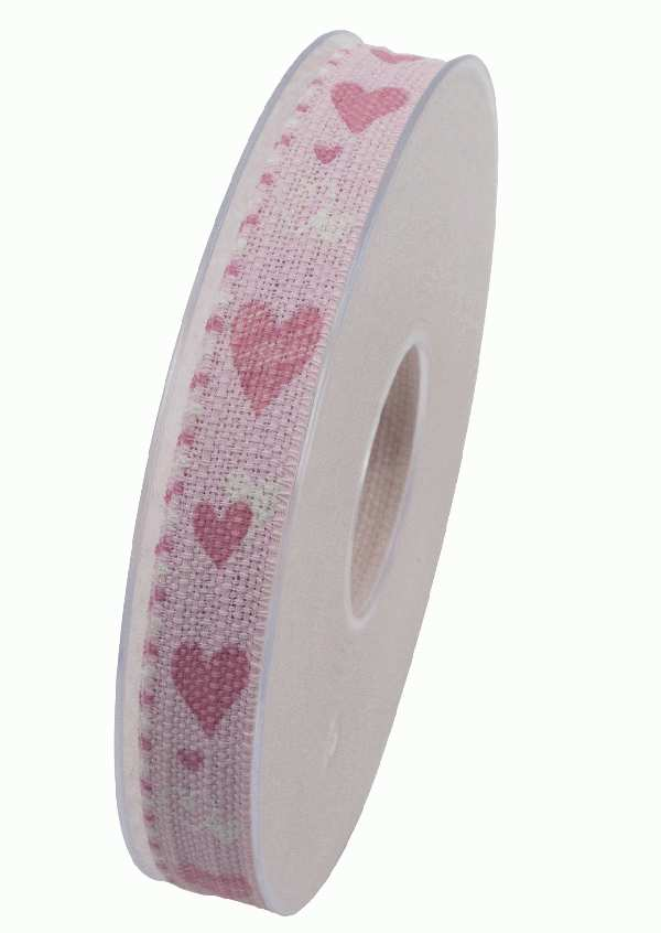 Herzband Cherry Kiss ROSA X917 21 B:15mm L:20m