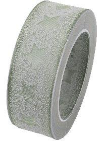 Sternenband Santa Isabel GRÜN B:40mm L:15Meter X983 543